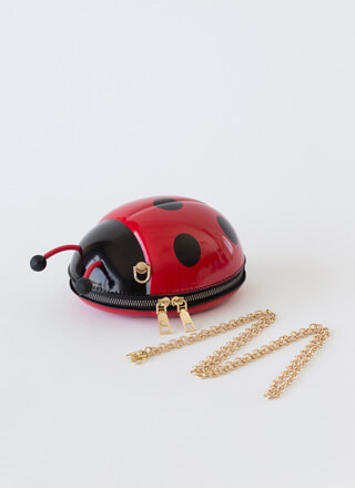 Luck Be A Ladybug Novelty Purse