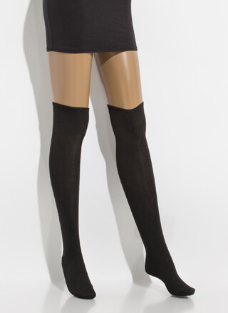 I Long For You Thigh-High Socks