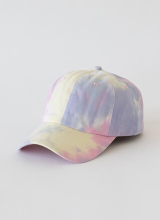 Sun Day Fun Day Tie-Dye Baseball Cap