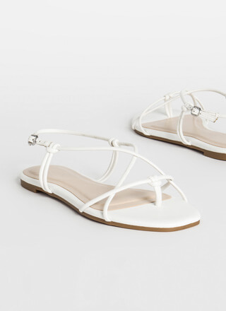 X-It Strategy Strappy Thong Sandals