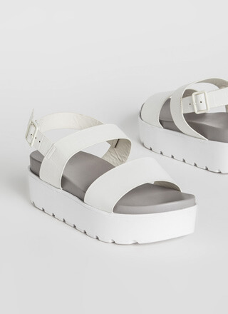Little Crocodile Thick Platform Sandals
