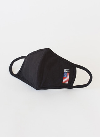 United We Stand American Flag Face Mask