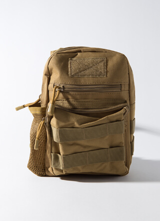 I'm Outtie Mini Camo Sling Backpack