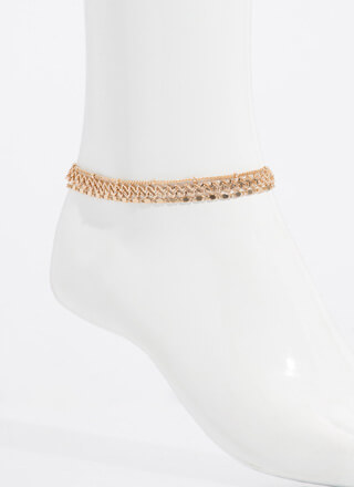 Chains Of Plans Anklet Trio