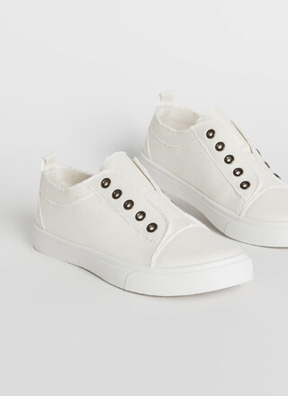 Unfinished Business Canvas Sneakers