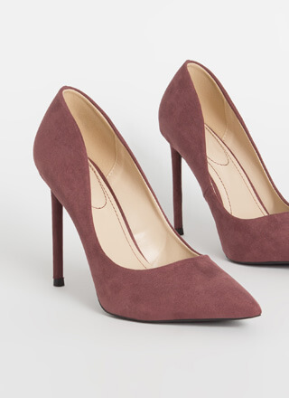 Unconditional Love Pointy Stiletto Pumps