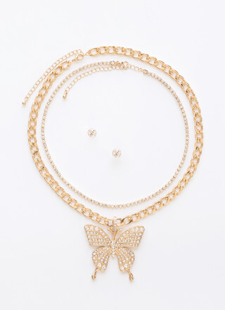 The Bold And The Butterfly 2-Chain Set