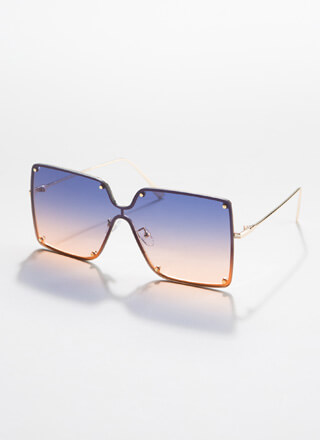 Class By Itself Squared Sunglasses