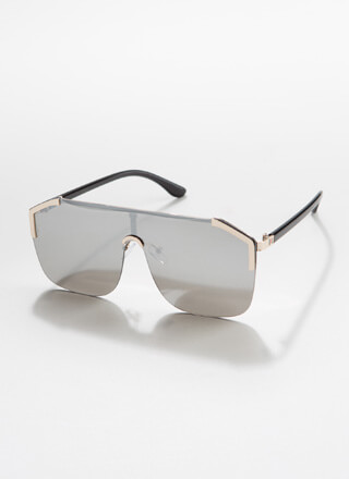 Corner Office Frameless Sunglasses