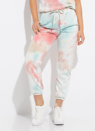 Treat Me Tie-Dye Sweatpant Joggers