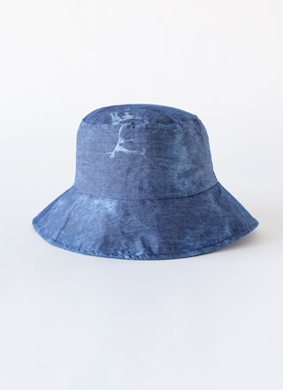 Beach Bum Denim-Look Bucket Hat