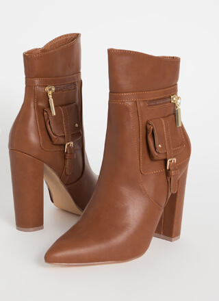 Precious Cargo Chunky Pocketed Booties