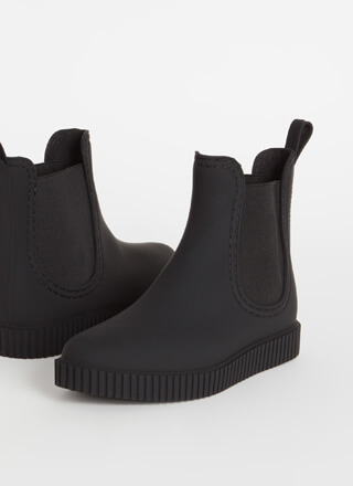 Ready For Anything Matte Jelly Booties