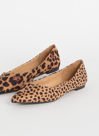 It's Two-Sided Leopard And Cheetah Flats