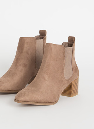 Girls In The City Chelsea Booties