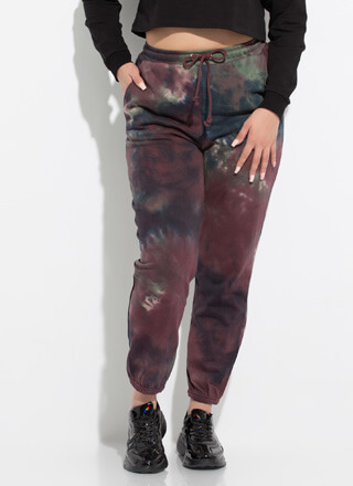 Ink Again Tie-Dye Sweatpant Joggers