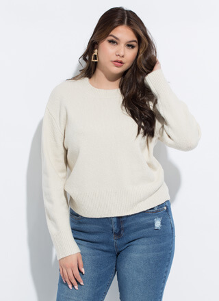 Warm And Cozy Soft Knit Sweater