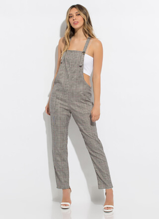 The Best Overall Plaid Jumpsuit