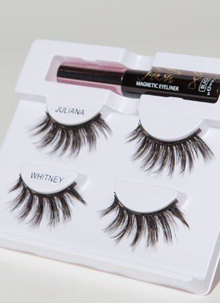 You Flirt Magnetic Liner And Lashes Kit