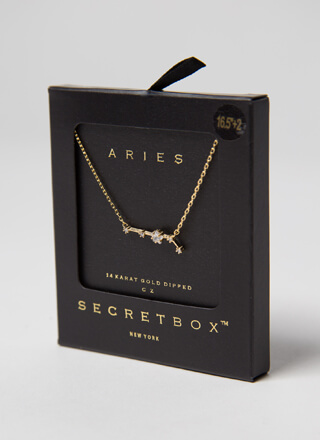 Aries Constellation Charm Necklace