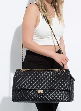 Big Surprise Super Oversized Quilted Bag