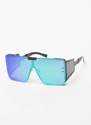 Reflect On The Future Blinder Sunglasses