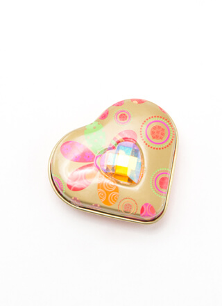 Smooches Heart-Shaped Flavored Lip Balm