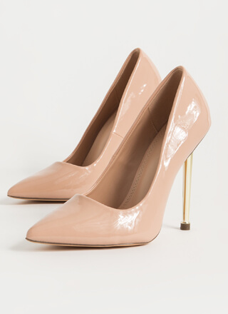 Step On Me Please Pointy Stiletto Pumps