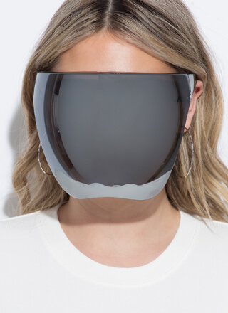 Let's Reflect Face Shield Sunglasses