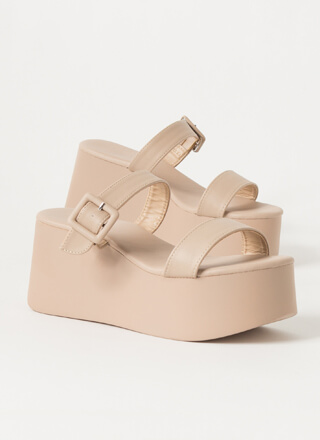 High Level Buckled Platform Wedges