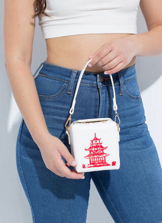 Late Night Craving Takeout Box Purse