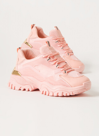 Mesh With Me Tonal Platform Sneakers