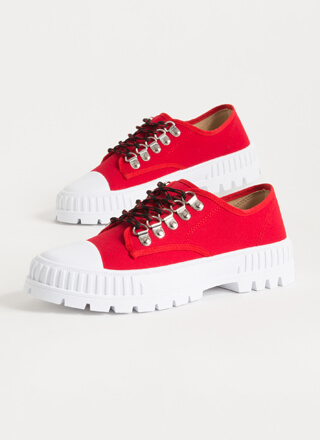Cool Kids Club Ridged Platform Sneakers