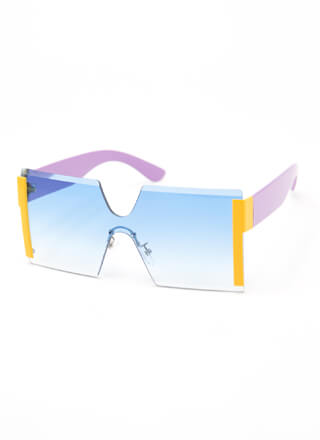 Cool Breeze Sporty Square Sunglasses
