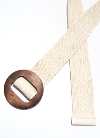 It Wood Do You Good Woven Belt