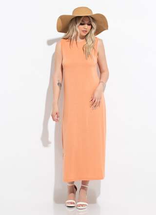 Shift Into Vacay Mode Maxi Tank Dress