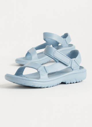 This Weekend Sporty Faux Harness Sandals
