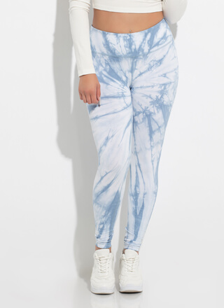 Pique My Interest Tie-Dye Leggings