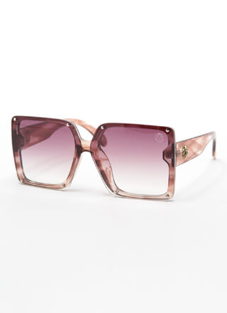 Lion's Share Square Sunglasses