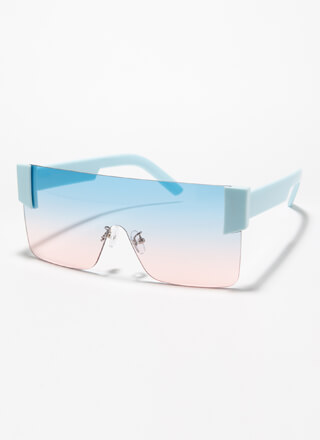 My Style Frameless Square Sunglasses