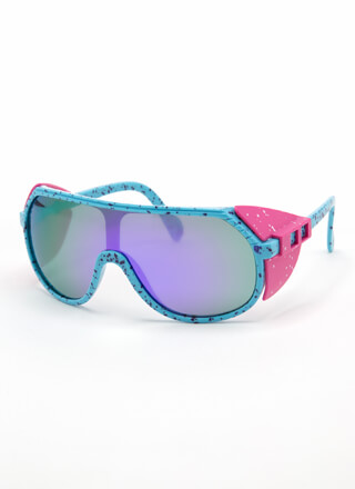 Blinders On Sporty Goggle Sunglasses