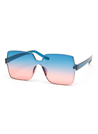 Fun And Frameless Square Sunglasses