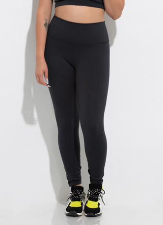 Workout Song High-Waisted Leggings