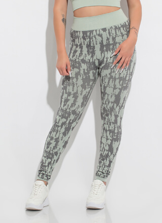 Inkblot Test High-Waisted Leggings