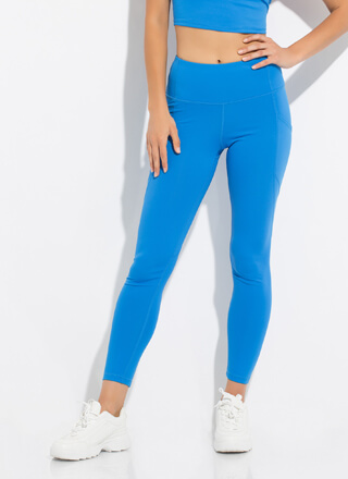 New Gym Pocketed High-Waisted Leggings