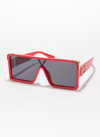 Fashion Regiment Squared Sunglasses