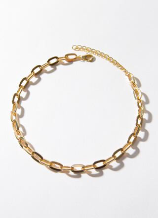 Keep Things Simple Cable Chain Choker