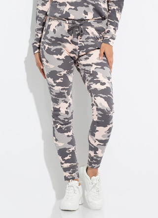 Do You See Me Now Camo Sweatpant Joggers