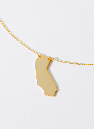 California Babe Charm Necklace