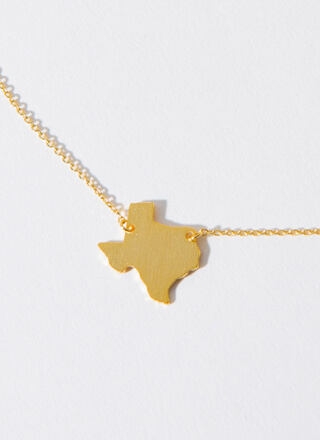 Texas Babe Charm Necklace